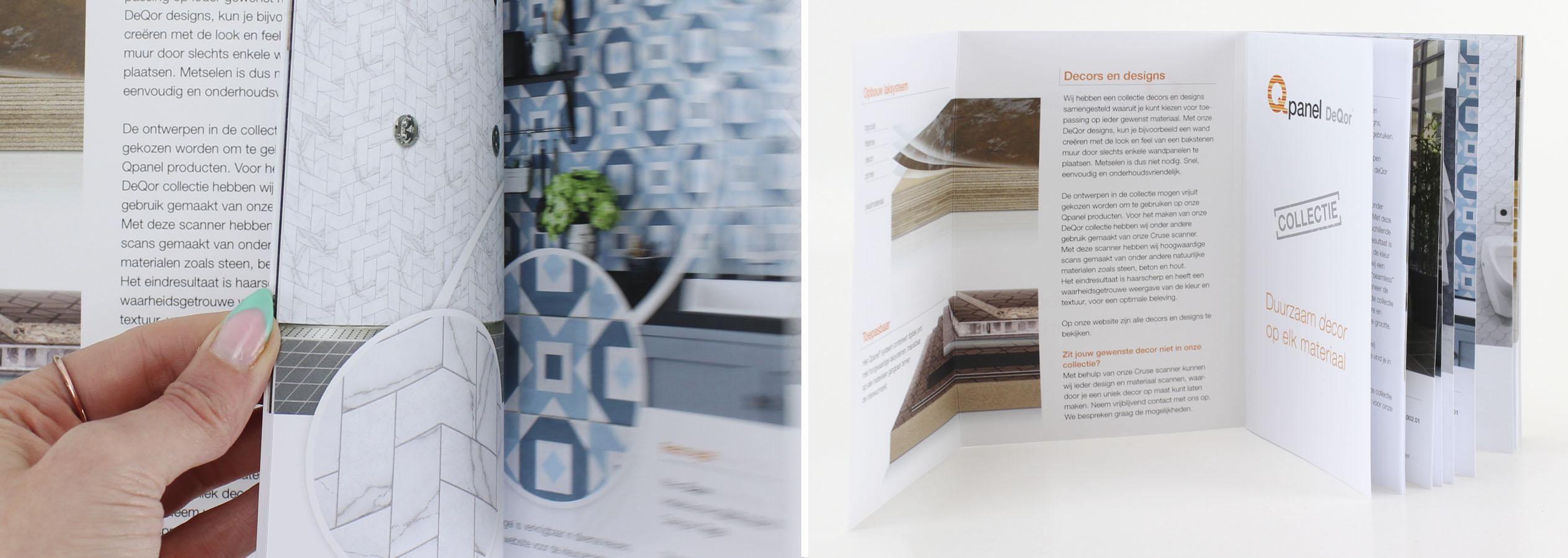 NIEUW! Een speciaal collectieboekje van onze beschikbare decors.